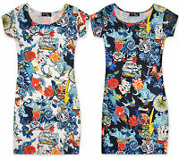 Girls Print Midi Dress Kids Bodycon Dresses New Age 7 8 9 10 11 12 13 Years