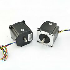 NEMA23 Dual Shaft 1A/181oz-in Hybrid Stepper Motor  ( 23HS22DS )