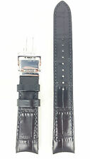 Original Seiko Premier Black Strap 7D48-0AA0 Watch Band SNP005P1 SNP005J1 SNP005