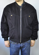 STRELLSON Swiss Cashmere&Wool UK40 Men Winter Harrington Coat Jacket Gr.50 Jacke