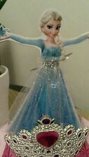 Disney Frozen Elsa  Princess cake topper 8 inches tall !!  Handmade & Beautiful