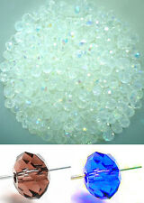 Free ship 100 PCS swarovski crystal 4 mm 5040# Rondelle Beads