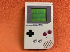 Nintendo Game Boy GameBoy Original Grey System Console Handheld Super NICE!