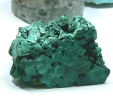 "RARE NATURAL DRUZY GREEN MALACHITE CRYSTAL SPECIMEN CONGO 3.35"" 54gr STAND ALONG"