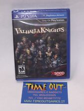 VALHALLA KNIGHTS 3 GAME PS VITA NUOVO INGLESE NEW  SEALED