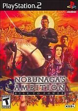 Playstation 2 Nobunaga's Ambition: Rise to Power  Game COMPLETE