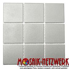 Mosaik grau Keramik Bodenfliese Bad WC antirutsch R10B Art: 22-0204-R10| 10Bögen