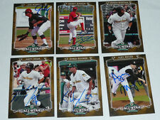 GERSON MONTILLA South Ben Silverhawks Signed 2012 Midwest League All Star AUTO