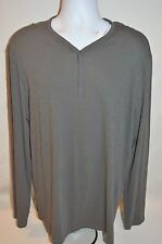 JOHN VARVATOS Star USA Man's Long Sleeve T-shirt NEW  Size X-Large  Retail $118