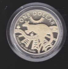 2003 Australia $1 Ounce 1oz Silver Proof Kangaroo Coin