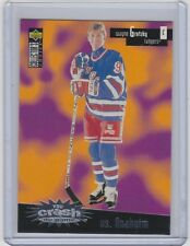 96-97 1996-97 COLLECTOR'S CHOICE WAYNE GRETZKY CRASH THE GAME VS ANAHEIM C1