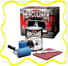 Herculiner HCL1B8 Brush-on Bed Liner Kit DIY Black Complete Kit