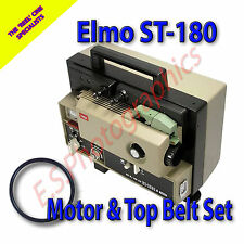 Elmo ST-180 super 8mm sound minicinex ceintures lot de 2