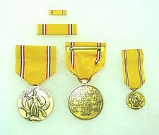 Agency, Department of Defense American Defense Service Medal, set of 4