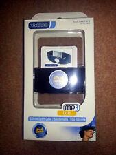 Mp3 Ipod Nano 3 Black Silicone Neoprene Sports Pouch Case