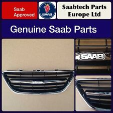 GENUINE SAAB 9-3 2003-07 FRONT CENTRE GRILLE - BRAND NEW - 12797998