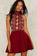 Rare London Hold Court Lace Dress Size XS  nasty gal