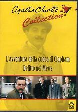 L'avventura della cuoca di Clapham-A.CHRISTIE, Film in DVD, 1989, 100 min- ST627