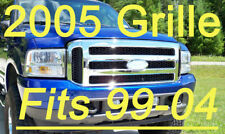 Ford CHROME Grille CONVERSION Fits 1999-2004 Super-Duty  F250 F350 F550 F450