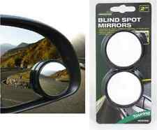 2 x CONVEX BLIND SPOT MIRROR ROUND REVERSING SELF ADHESIVE CAR VAN WIDE ANGLE