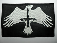 RAVEN BLACK METAL    EMBROIDERED PATCH