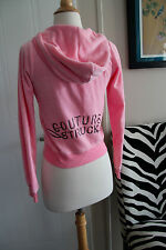 Juicy Couture RARE Limited Couture Struck PINK Hoddie Jacket NWOT Small