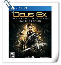 PS4 Deus Ex: Mankind Divided SONY Action Adventure Games Square Enix
