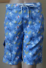 NWT O'RAGEOUS Boys' E-board Blue Skull swim Shorts,S-8,M-10/12,L-14/16,XL-18/20