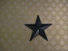 """3.5"""" Black Barn Star Metal Primitive"""