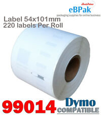 50 x 99014 54x101mm 220pcs/Roll Thermal Address Label Compatible for DYMO SEIKO