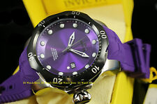 19306 Invicta 52mm Mens Venom Sea Dragon Automatic Purple Silicone Strap Watch