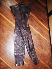 A&F Abercrombie Flagship Exclusive Exquisite Leather Legging/Pants matches RickO