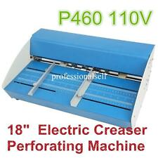 "New 18"" Electric 2-in-1 Scorer Perforator Paper Creasing Machine Scoring Creaser"
