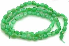 Chrysoprase Polished Nugget Bead 17 Inch Strand Natural Gem Stone Gemstone C2