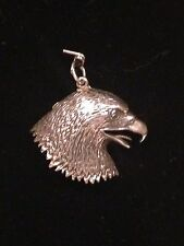 Eagle Head Pendent/Charm Sterling Silver .925