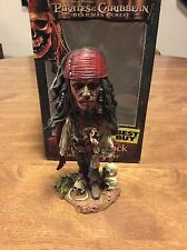 Pirates Of The Caribbean Cannibal Jack Johnny Depp Bobblehead Made By NECA!
