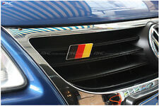 Germany Flag Front Grill Emblem Sticker For VW Golf MK5 MK6 MK7 Audi A3 A4 A5