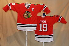Jonathan Toews CHICAGO BLACKHAWKS Reebok NHL Premier JERSEY Youth Large/XL  NWT