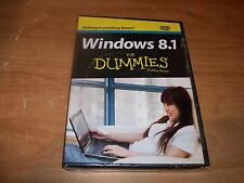Windows 8.1 For Dummies A Wiley Brand DVD Only Step by Step Instructions NEW