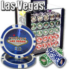 New 1000 Las Vegas 14g Clay Poker Chips Set with Acrylic Case - Pick Chips!
