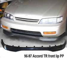 1996 1997 Honda Accord 2/4DR Type R Front Bumper Lip BLACK Unpainted NON V6