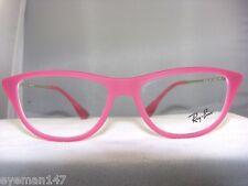 Ray Ban RB 7042 Eyeglasses Frames Rubber Fuchsia 5471 SIZE 52
