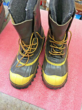 BS6 LaCrosse De-Icer Steel Toe Shank winter Boots Men size 7 Made in USA NEW!