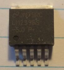 LM 2596 S - 5.0, NSC, 3 A-Step Down Voltage Regler, 2 Stück, TO 263, 7 Pin