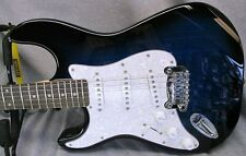 "G&L Tribute Legacy ""Lefty"" in Blueburst with Hardshell Case"