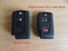 NEW Silicone Cover for 2+1 Button 2004-2009  Prius Remote / Smart Key
