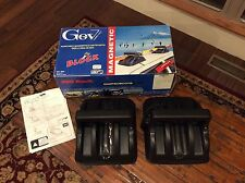GEV MAGNETIC CAR ROOF SKI RACKS MODEL 4836 TORINO ITALY