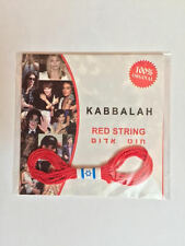 ORIGINAL RED KABBALAH STRING BRACELET & BEN PORAT PRAYER ISRAEL