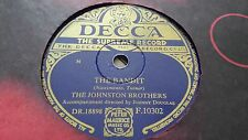 THE JOHNSTON BROTHERS THE BANDIT & A DIME AND A DOLLAR DECCA F10302