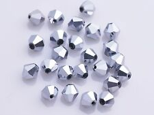 500pcs 4mm Bicone Crystal Glass Faceted Loose Spacer Beads Lots 5301# Shape